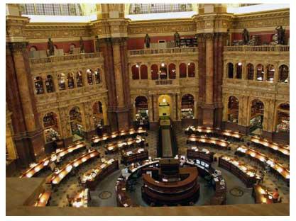 کتابخانه-کنگره-آمریکا